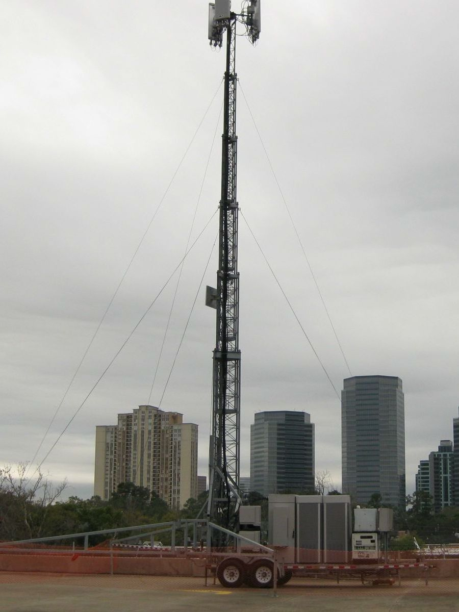 Mobile Self Supporting Tower f- Alltech Communications