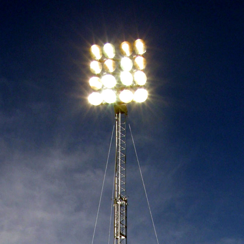 Portable Telescopic Light Tower: AllTech Communications Cell On Wheels, Telescopic Tower