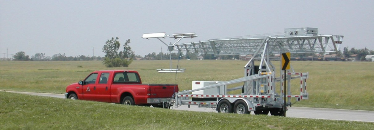 Telescopic Tower Trailer System Alltech Communications