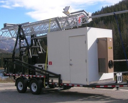 Telescopic Mobile Surveillance Camera | Telescoping Mast