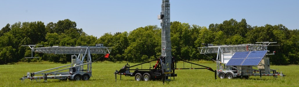 AllTech Communications Cell on Wheels, Telescopic Tower, Trailer & Telecom Shelter Manufacturing Company Mobile Towers